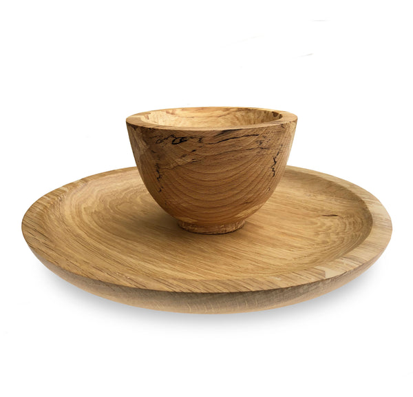 Hand Turned Wooden Nibble Bowl