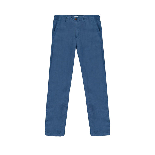 Linen Trousers in Chambray