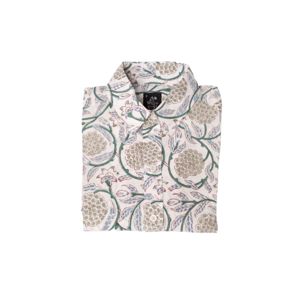 Block Printed Shirt-Zabibu