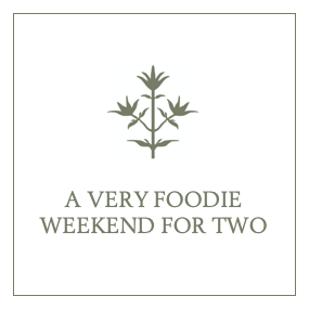 A Very Foodie Weekend for Two