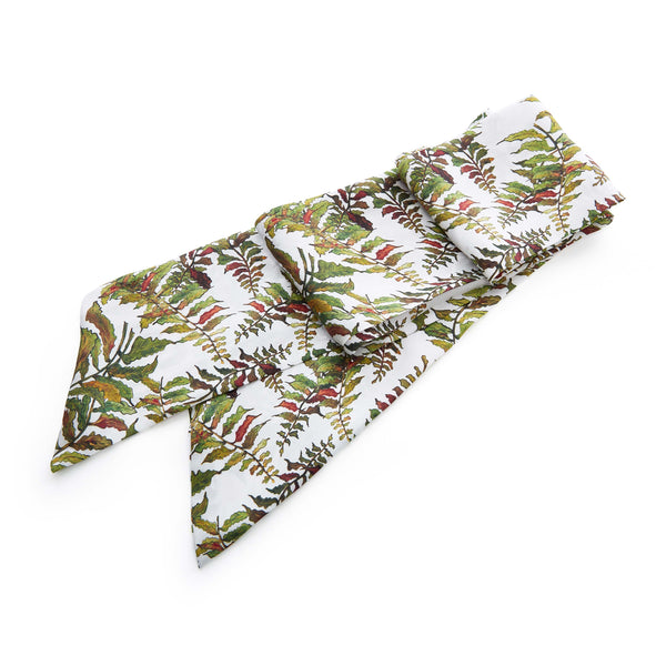 Silk Sash belt in Fern