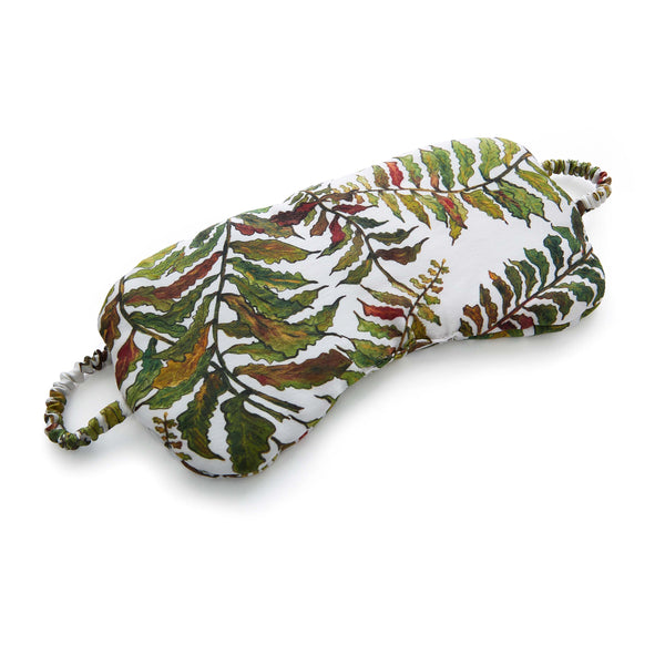 Silk Sleep Mask in Fern