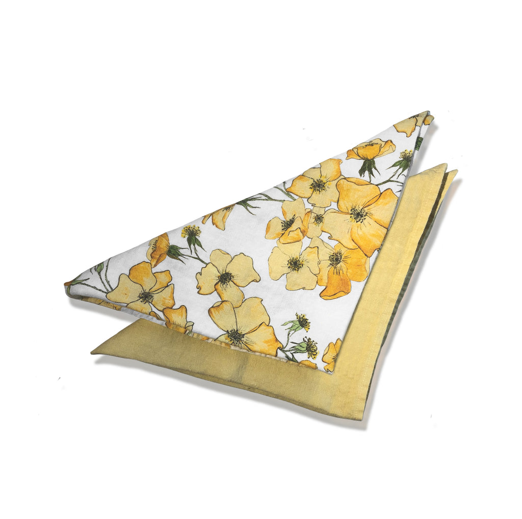 Yellow Rose Napkins
