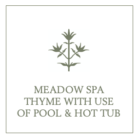 Meadow Spa Thyme with use of Pool & Hot Tub