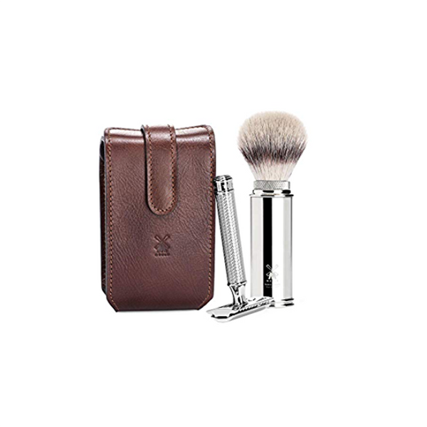 Muhle Travel Set Chrome