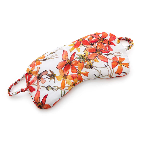 Silk Sleep Mask in Wild Rose