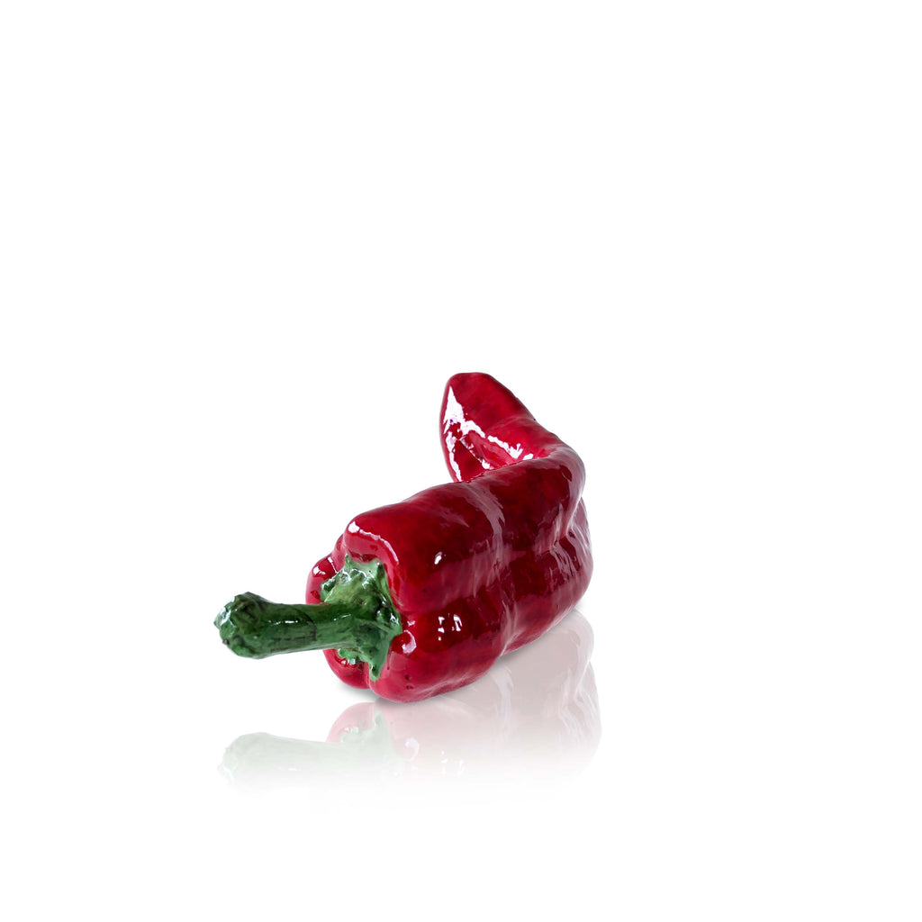 Hand Painted Decorative Red Pepper