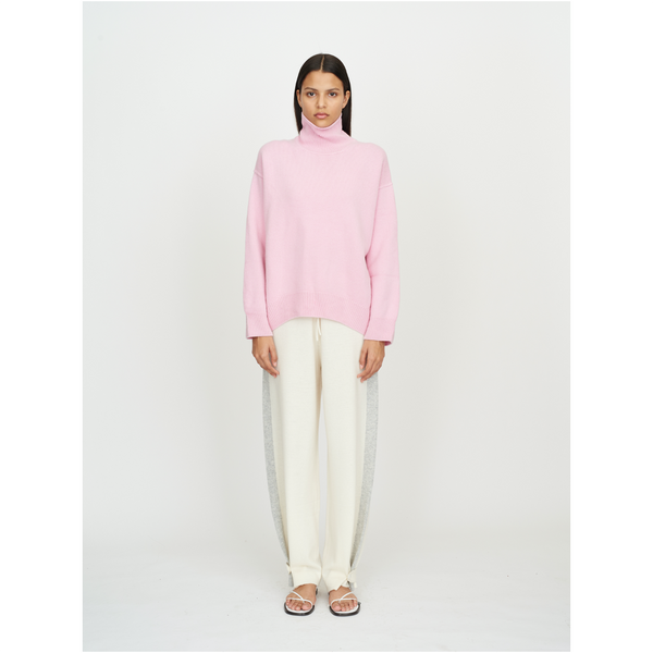 Oversized Jumper-Light Pink