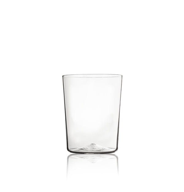 Simple Hand Blown Water Glass in Clear