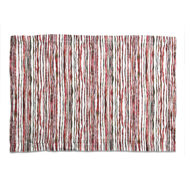 Red Stem Linen Placemat