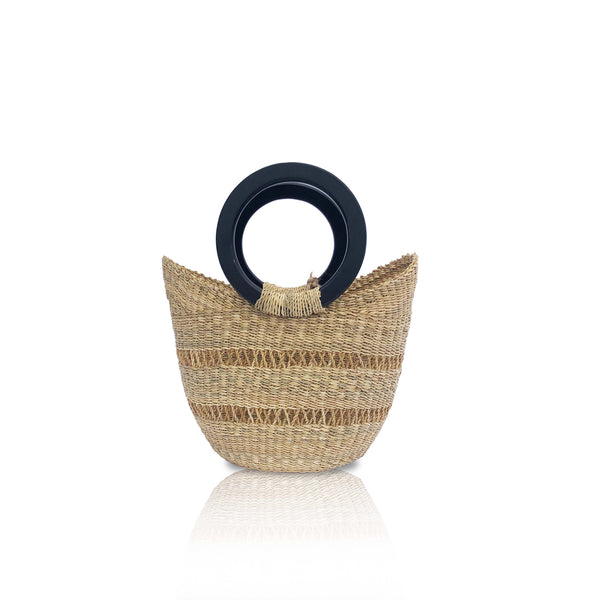 Small Windows Basket Bag