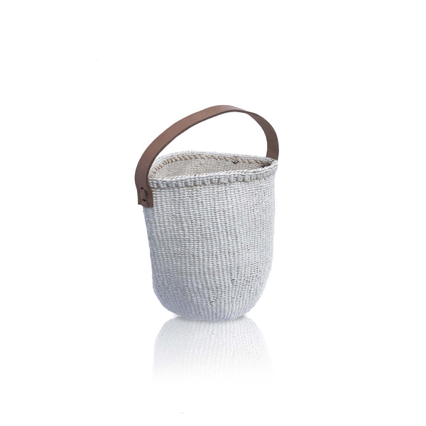 Small Basket in White