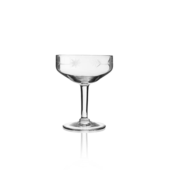 Star Antique Champagne Coupe
