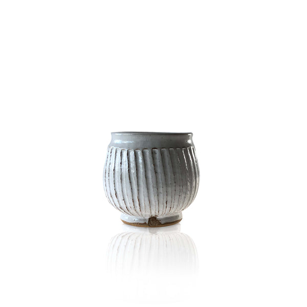 Fluted Yunomi Teacup
