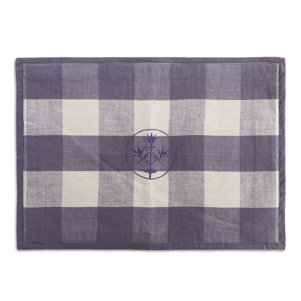 Mauve Check Thyme Placemat