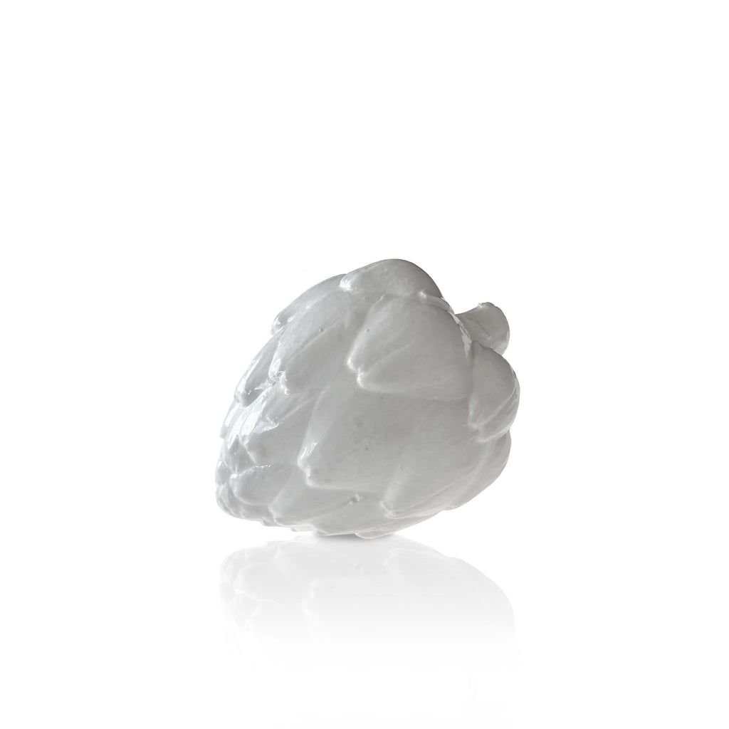 White Decorative Artichoke