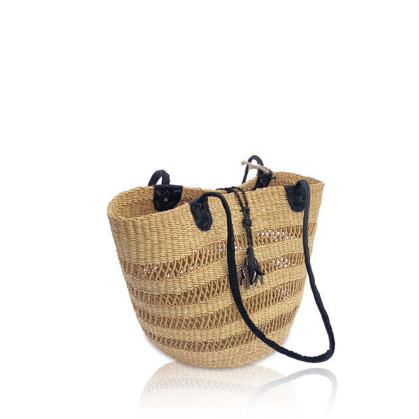 Windows Basket Bag in Neutral