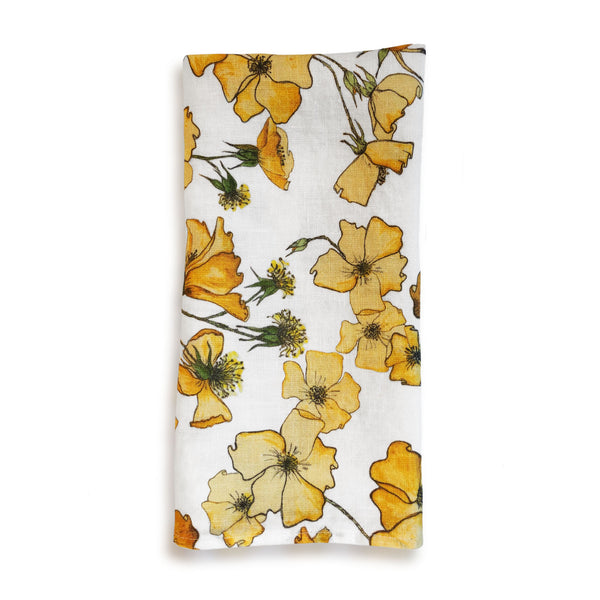 Yellow Rose Napkin
