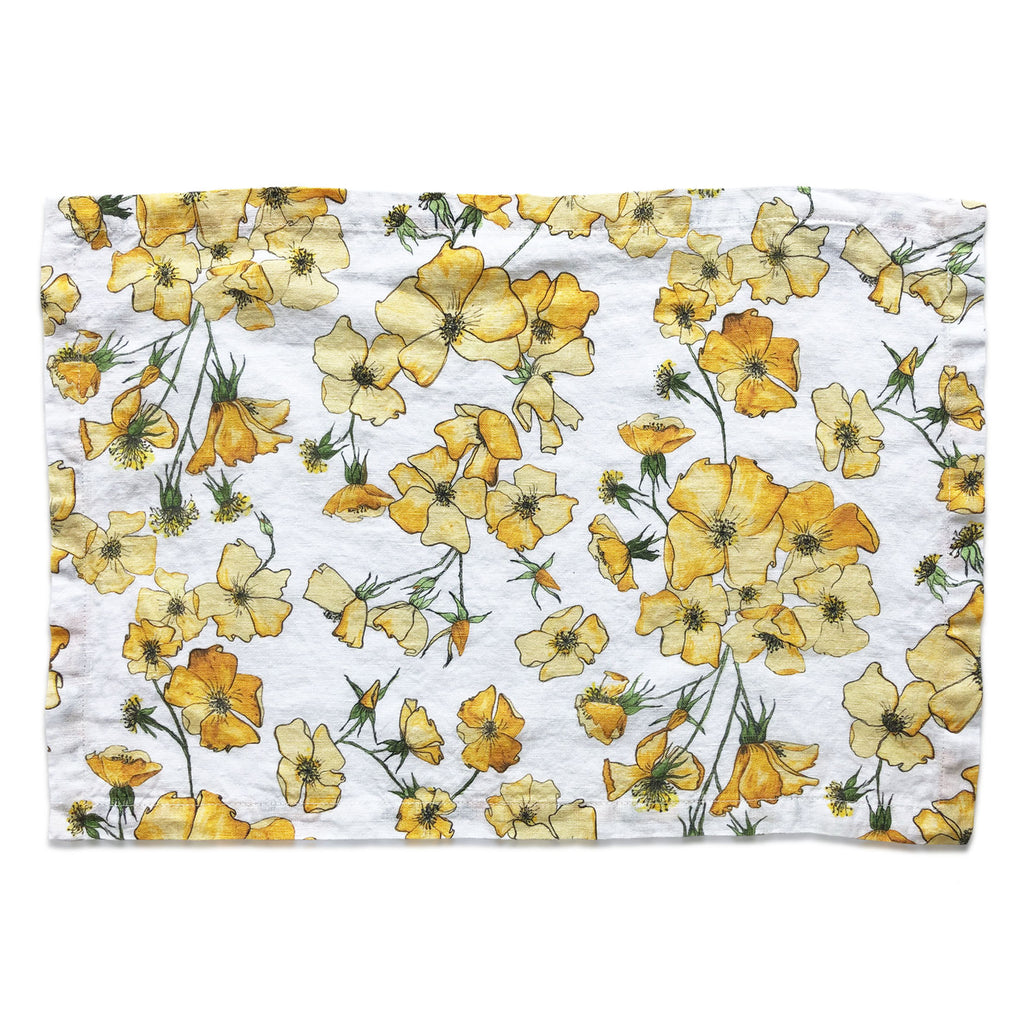 Yellow Rose Placemat