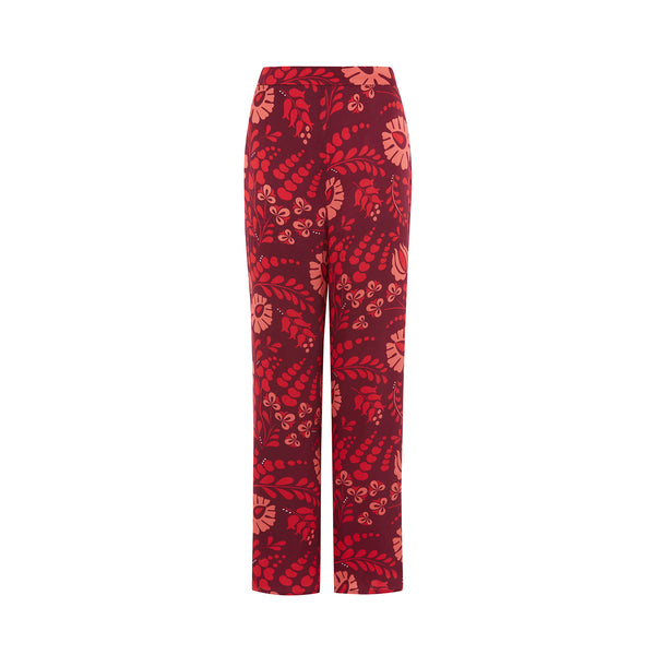 Audrey Trousers in Red