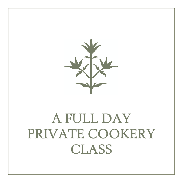 A Full Day Seasonal Cookery Class for Two