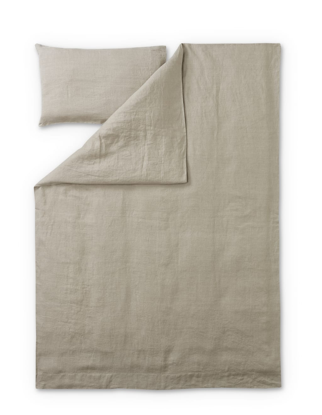 Jesus Linen Duvet Cover Set