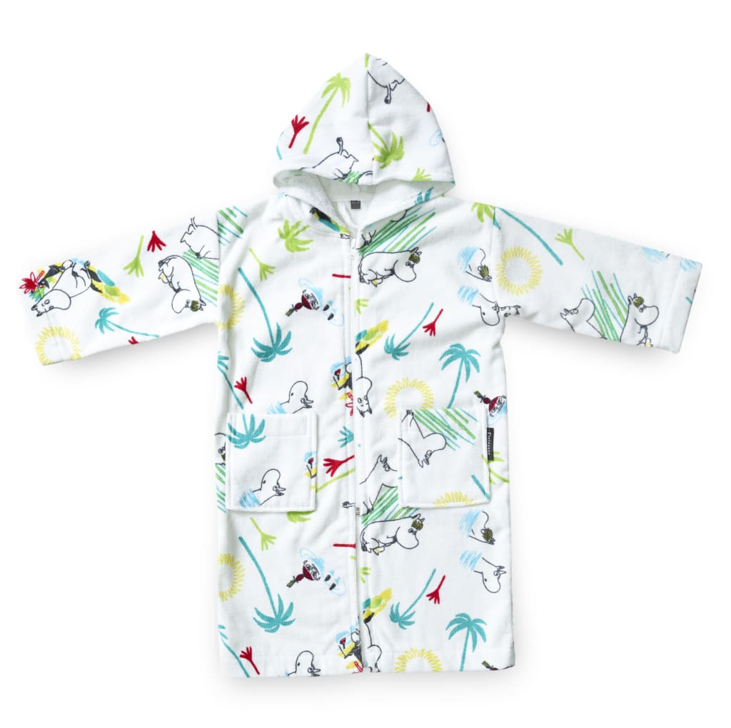 Palm Moomin Bathrobe for Children