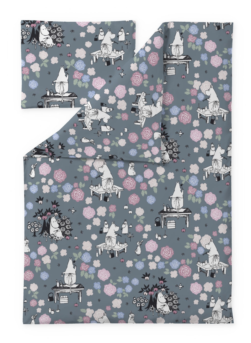 Moominmamma is daydreaming Duvet Cover Set