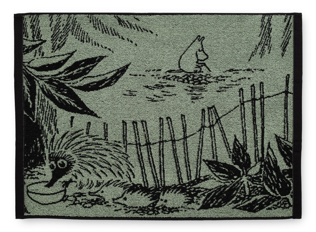 Forest Moomin Towel