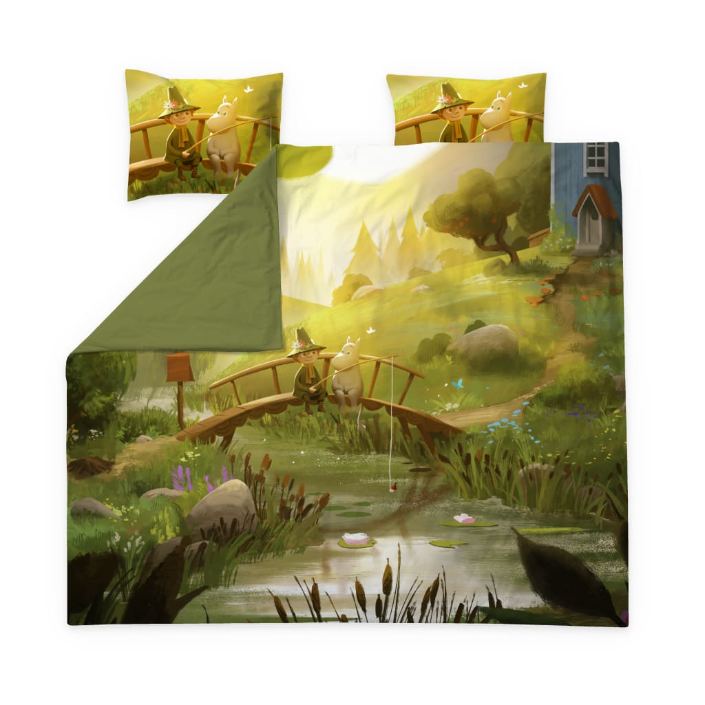 Moominvalley's Spring Sateen Duvet Cover Set