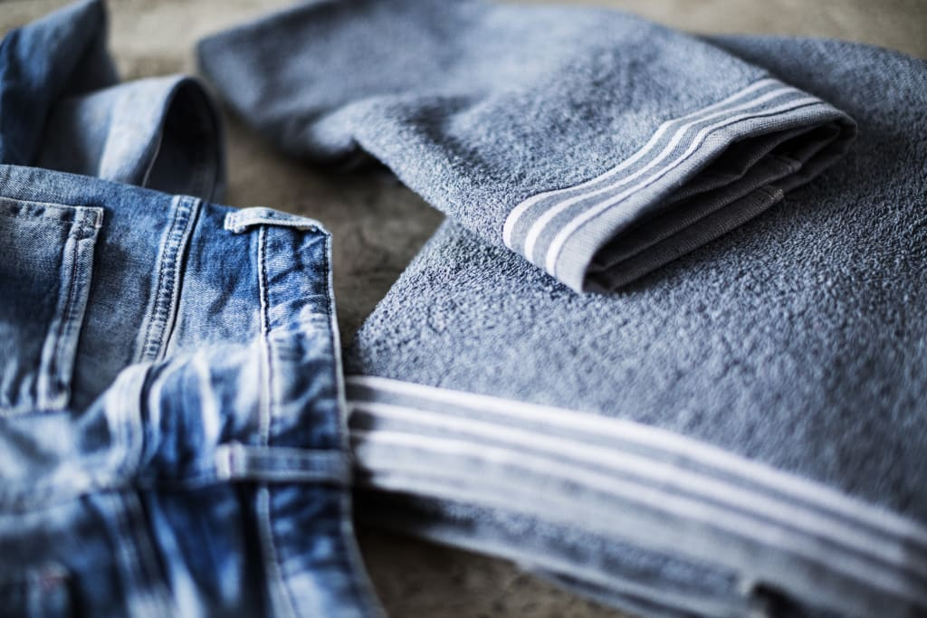 Old Jeans Towel
