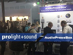 Prolight+sound 2017 in Frankfurt