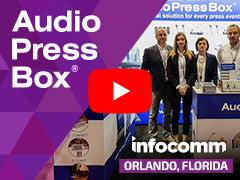AudioPressBox bei InfoComm 2019