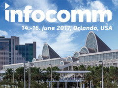 AudioPressBox at InfoComm 2017 in Orlando, Florida.
