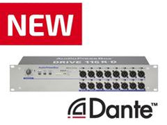 New Dante-enabled AudioPressBox devices at ISE 2018