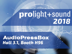 AudioPressBox at ProLight+Sound 2018