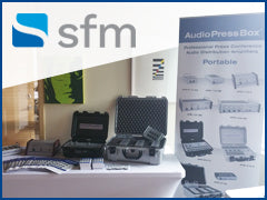 AudioPressBox at SFM in Canada.
