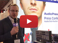 AudioPressBox at ISE 2018