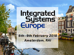 AudioPressBox at ISE 2018 invitation.