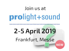 AudioPressBox auf der Prolight + Sound 2019