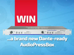 Win a Dante-ready AudioPressBox