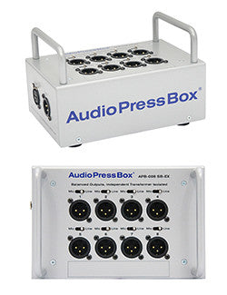 AudioPressBox - 008 SB-EX, Mic and amp set