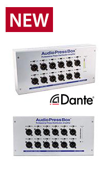 AudioPressBox - D112 OW-D, Amp Mics