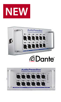 AudioPressBox-112 SB-D, Amp Mics