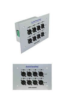 AudioPressBox-008 IW-EX, Audiosplitter