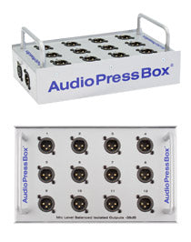 AudioPressBox-P112 SB, Microphone Splitter
