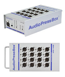 AudioPressBox-116 SB, Amp Mics