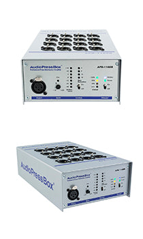 AudioPressBox-116 SB, Audio Broadcasting