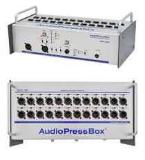 AudioPressBox-124 SB, Broadcast supply worldwide