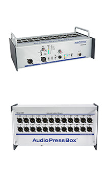 AudioPressBox-124 SB, Amp Mics